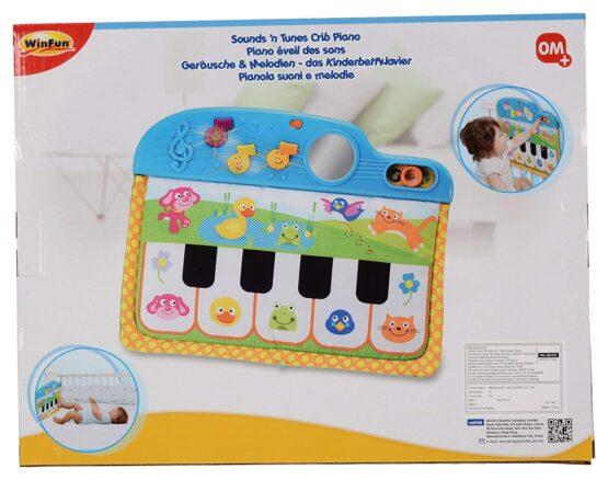 Winfun Sound and Tunes Crib Piano - 3