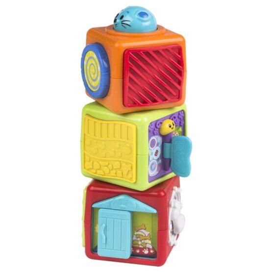 3 Stack N Play Activity WinFun Cubes Blocks - 3