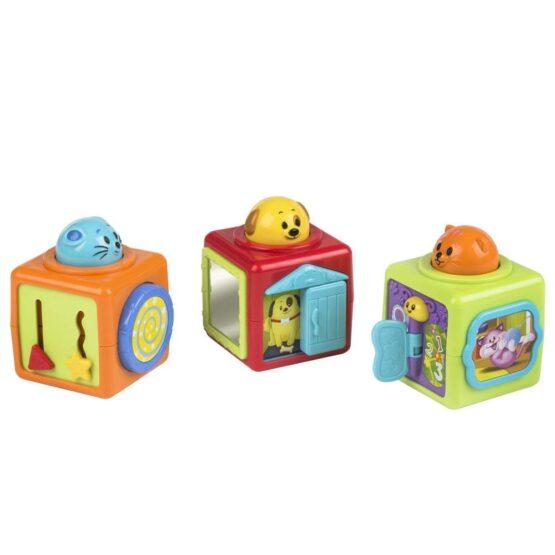 3 Stack N Play Activity WinFun Cubes Blocks - 4