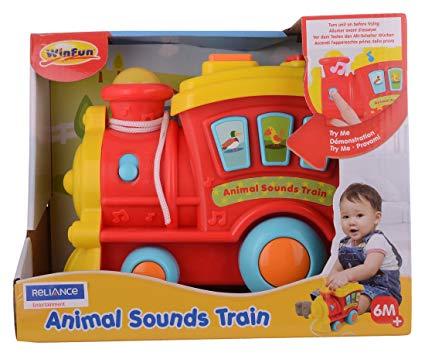 Animal Sounds Train Best - 3