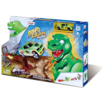 Maisto Fresh Metal 3″ Dino Playset With One Vehicle
