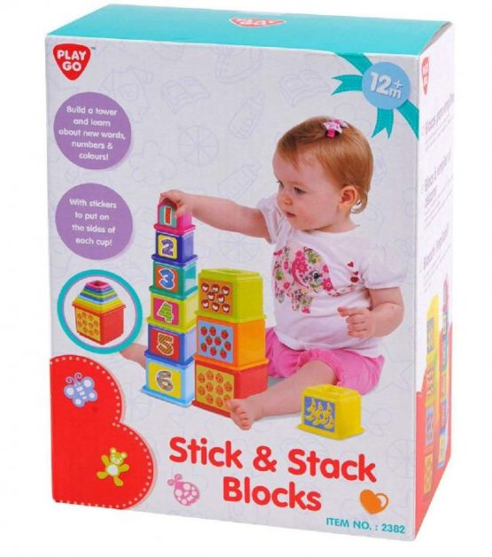 Play Go Stick Stack Blocks - 1