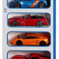 Bburago Auto Street Fire Pack of 5 Cars – Color & Style May Vary