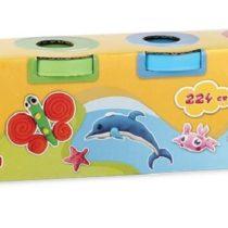 Dede Art Craft Play Dough 4 Tub Pack-224 Gr