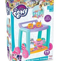 DeDe My Little Pony Tea Service Trolley 14 Pcs In Box
