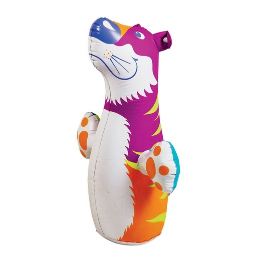 3D Bop Punching bag  Blow Up Inflatable Tiger for Kids