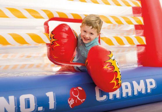 Intex Jump-O-Lene Boxing Ring Inflatable Bouncer-4