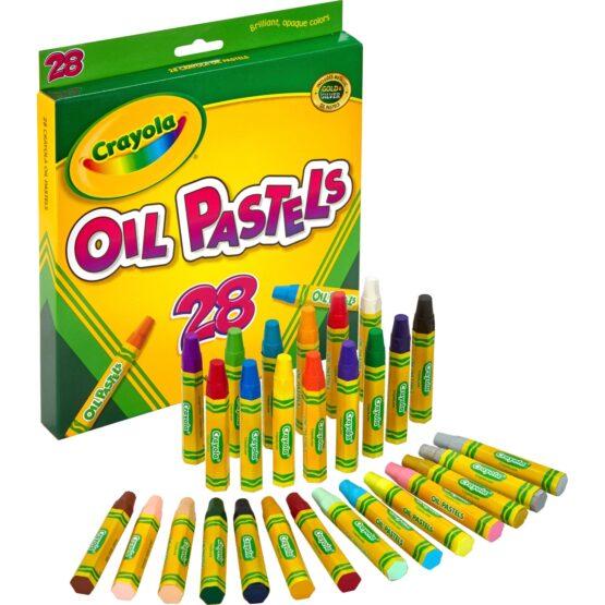 Jumbo Sized Oil Pestels Set of 28 Colors