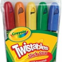 Crayola 5pcs Twistables Slick Stix Set Super Smooth