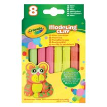 Crayola Modeling Clay Neon 8 Per Pack