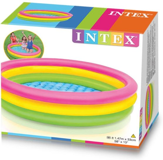 INTEX SUNSET GLOW Inflatable Swimming water pool - 1