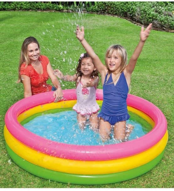 INTEX SUNSET GLOW Inflatable Swimming water pool - 2