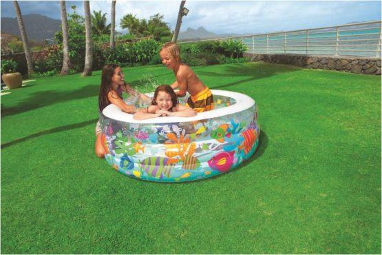 Intex Inflatable Aquarium Swimming Pool - 1