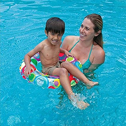 Intex Lively Print Swim Ring – Color & Style May Vary