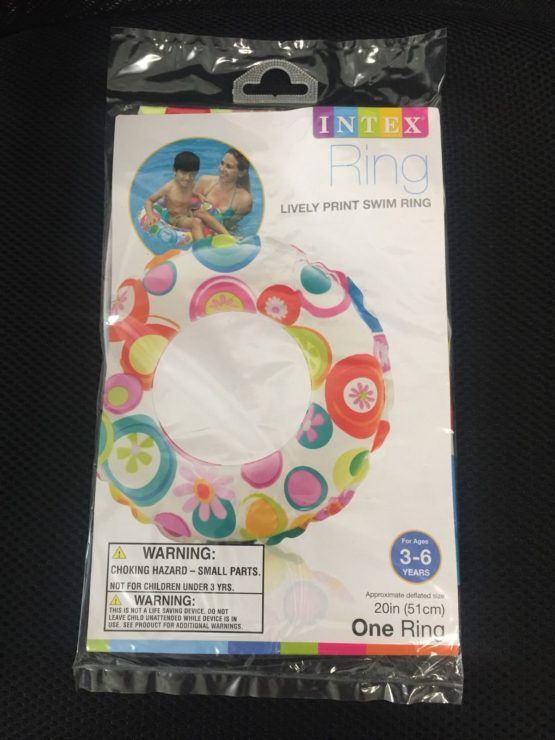 Intex Lively Print Swimming Ring - 3