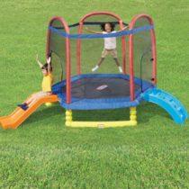 Little Tikes 7′ Climb 'N Slide Trampoline
