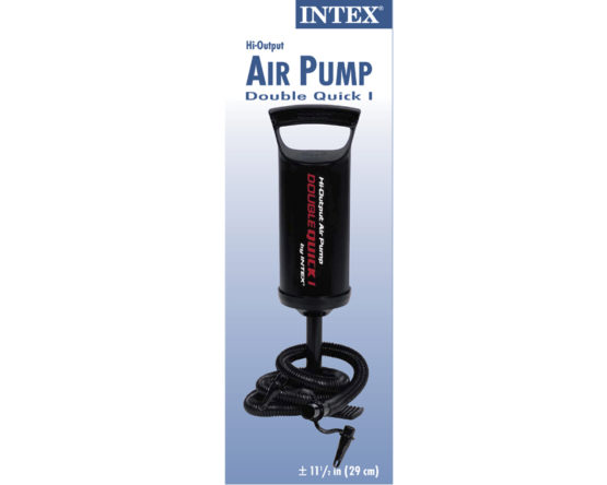 Intex Double Quick Hand Pump for Pools and Air Beds - 3