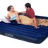 ntex Blue Color Corduroy Air Inflatable Bed Outdoor Mattress-3