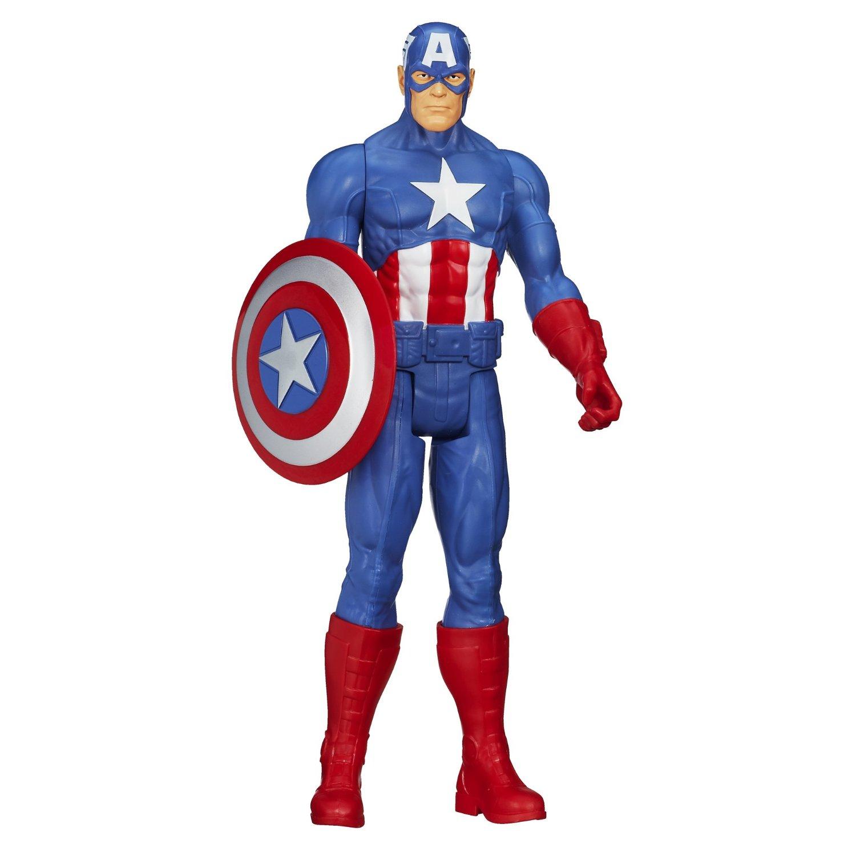 Marvel Avengers Captain America 12 Inch Action Figure Titan Hero Series 30Cm Toy