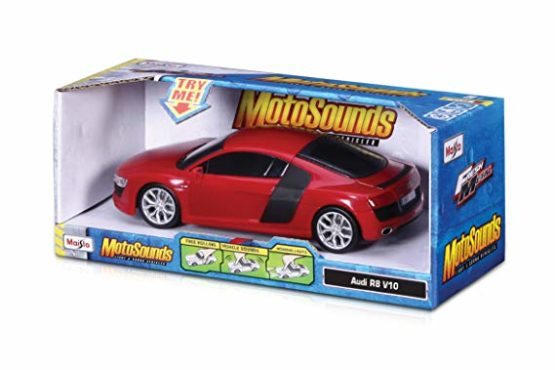Maisto MotoSounds Audi R8 V10 Vehicle Car