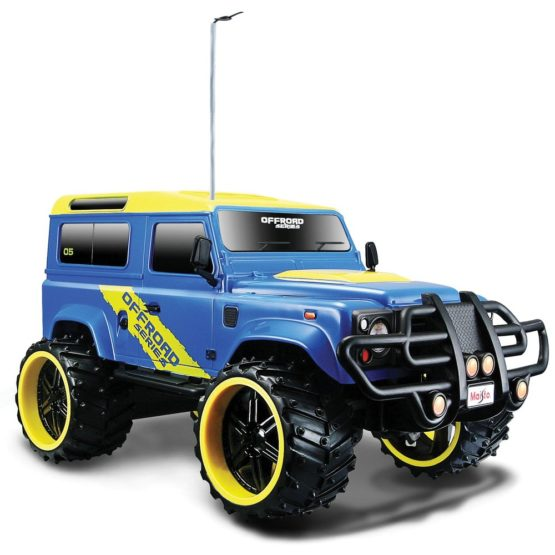 Maisto Remote Control Scale 1:16 Jeep Land Rover Defender - 4