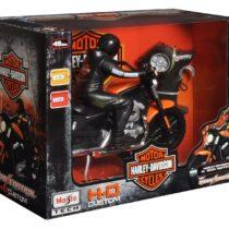 Maisto Remote Control Harley Davidson XL 1200N Nightster with Rider Bike