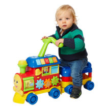 Winfun Walker Ride-On Learning Train – Color May Vary