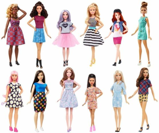 Barbie Assorted Fashionista Dolls – Color & Style May Vary