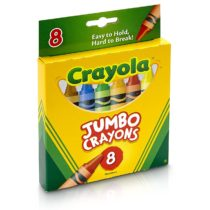 8 Pcs Jumbo Crayons Set School Kids Markers