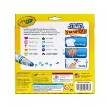 Crayola Ultra-Clean Washable Stamper 10 Markers