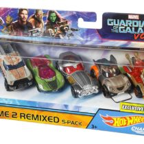 Hot Wheels Guardians of the Galaxy 5-Car Pack