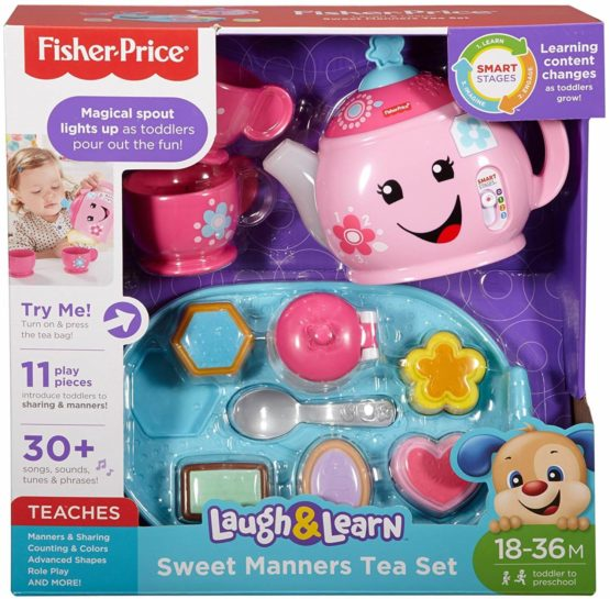 Fisher Price Laugh and Learn Sweet Manners Tea Playset-1