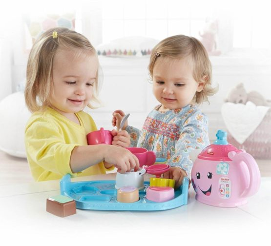 Fisher Price Laugh and Learn Sweet Manners Tea Playset-4