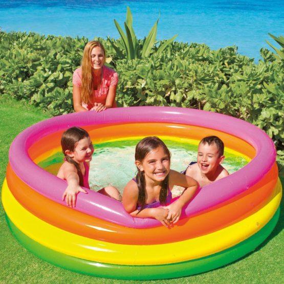 Intex Sunset Glow Kids Children Swimming Pool