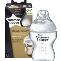 Baby White PP Wide Neck Tommee Tippee Bottle 9OZ