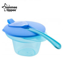 Tommee Tippee Explora Cool And Mash Bowl Lid & Spoon