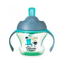 Tommee Tippee 150ml First Training Straw Cup Green