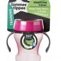Tommee Tippee 230ml Unique 360° Valve Cup Pink