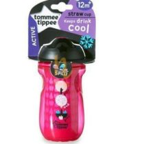 Tommee Tippee 260ml Active Straw Cup Pink