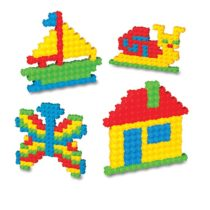 DeDe Tik Tak Small Box 250 Pcs Blocks