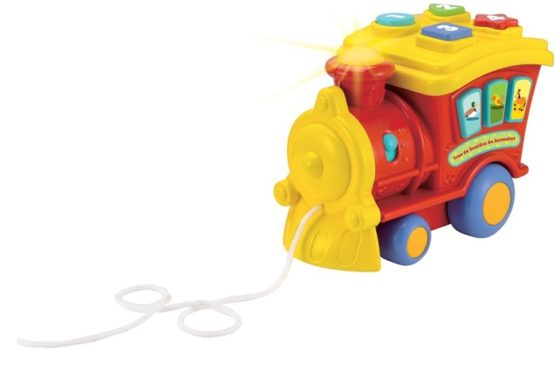 Winfun Animal Sounds Train Best Toy – Color May Vary