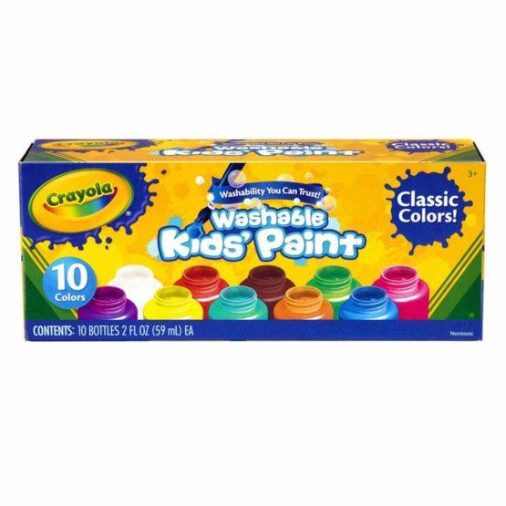 Crayola Washable Kid's Paint 10 Bottles Per Pack - 2