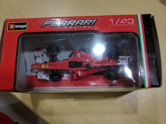 Bburago 2018 Ferrari Racing Formula 1 Car - 2