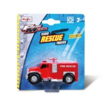 Maisto Rescue Fire Truck – Color and Style May Vary