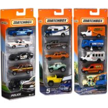 MatchBox 5 Cars Pack – Color & Style May Vary