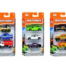 MatchBox 3 Cars Pack – Color & Style May Vary