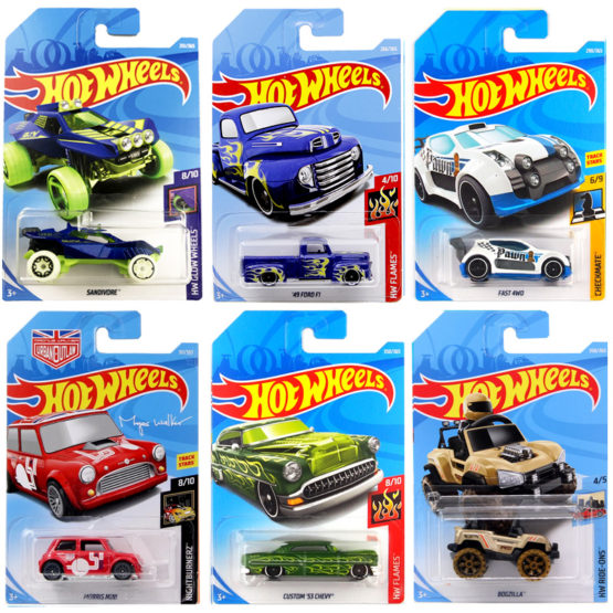 HotWheels Car 3 inch Random Model Color and Style May Vary