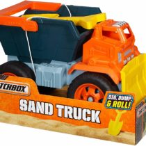 MatchBox Sand Truck Dig Dump – Color & Style May Vary