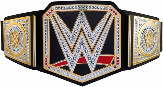 WWE Wrestling Championship Belt - Colours and Decorations May Vary