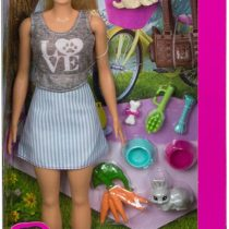 Barbie Doll and Pet With Accessories